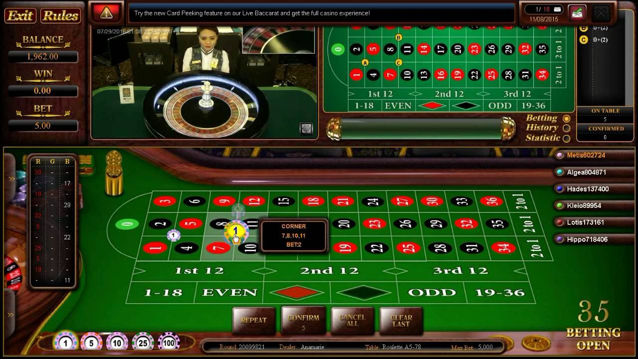 Photo of website tentang judi online roulette